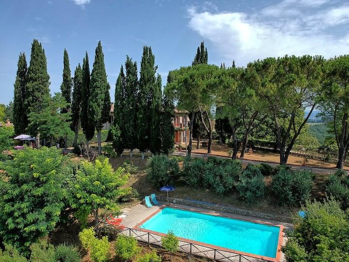 Hideaway villa in San Gimignano