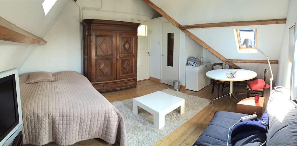 Cosy attic in private house - Maastricht - Hus