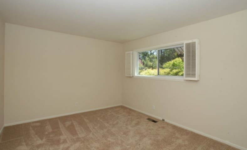 One bedroom in Atherton mansion