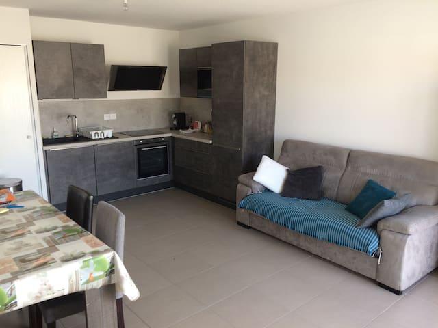 La Seyne-sur-Mer : Chambre dans appartement.
