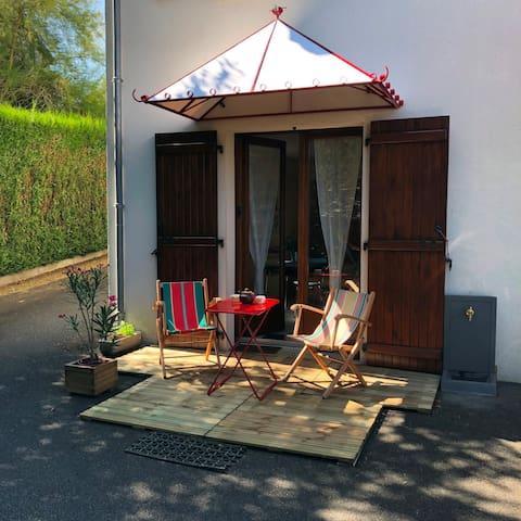 Chez Brigitte et René, à la Côte Verte