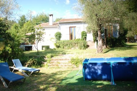 Charming 3 bed family home with above ground pool - Le Bar-sur-Loup