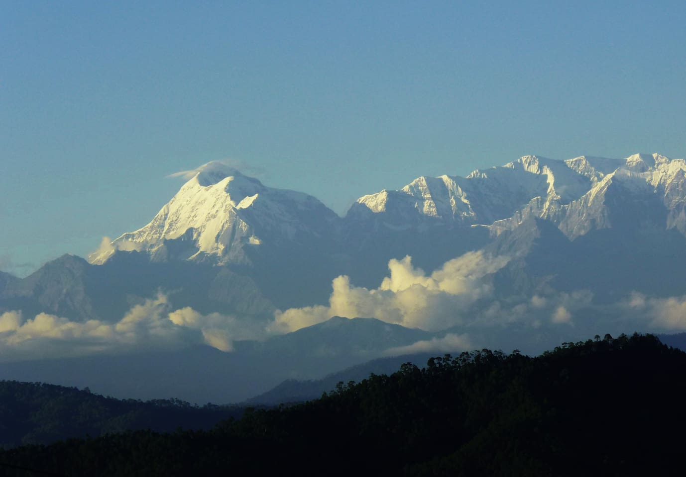 Trishul view from your balcony!