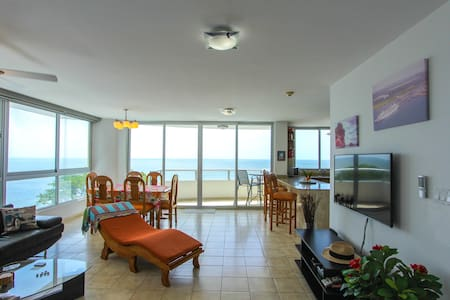 Lovely beachfront condo - Nueva Gorgona - Wohnung