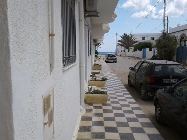 location estivale à Kélibia, Tunisie.