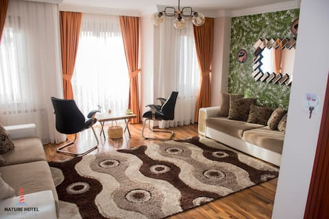 Yeşilköy Nature Hotel Apartments | Family Room