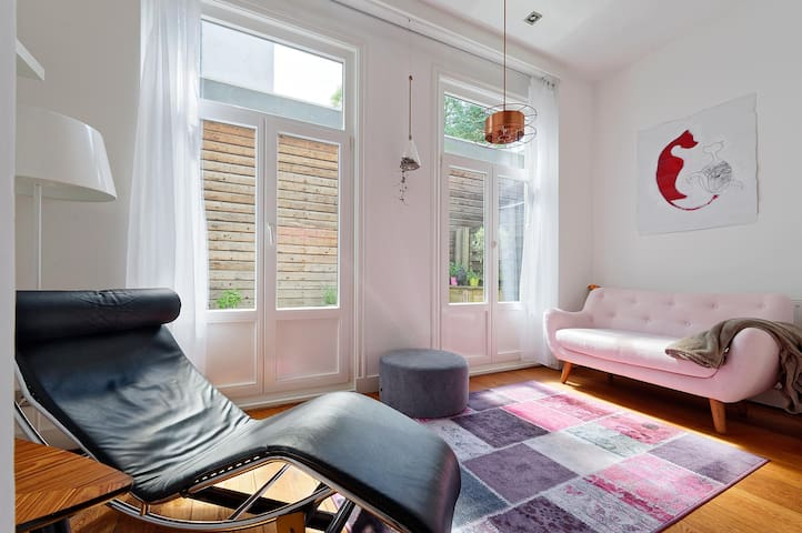 Unique cosy apartment with garden in De Pijp - Amsterdam - Flat