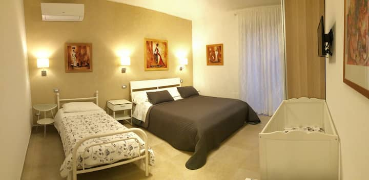 Bandaneón's room