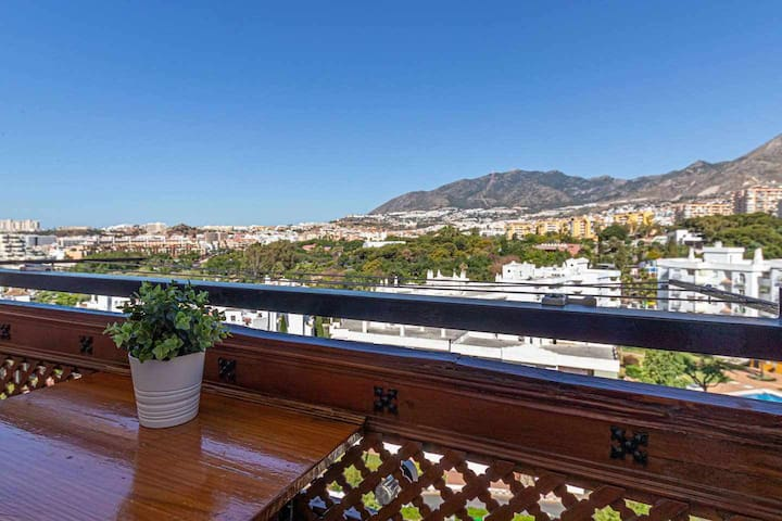 Studio for 3 in Benalmadena just minutes from the beach.