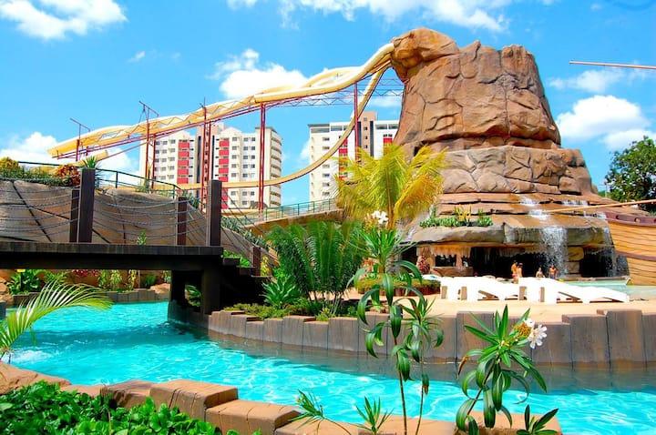 Hotel diRoma Piazza Caldas Novas Acesso Acqua Park
