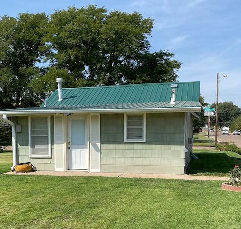Little Green Cottage on the Corner