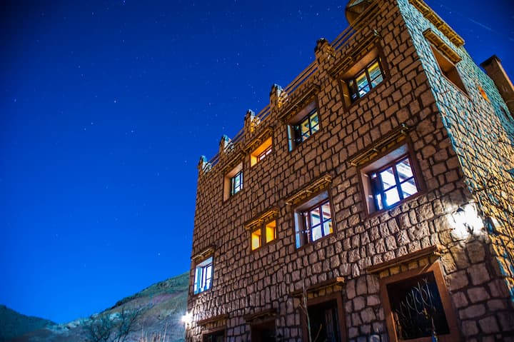 Atlas mountains Toubkal Ecolodge
