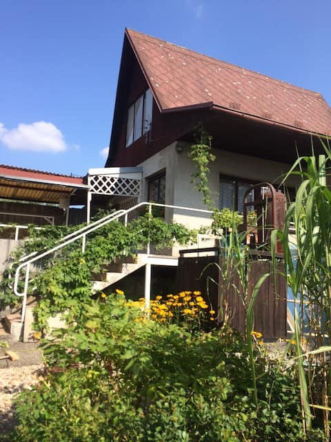 Chata na léto u Jihlavy