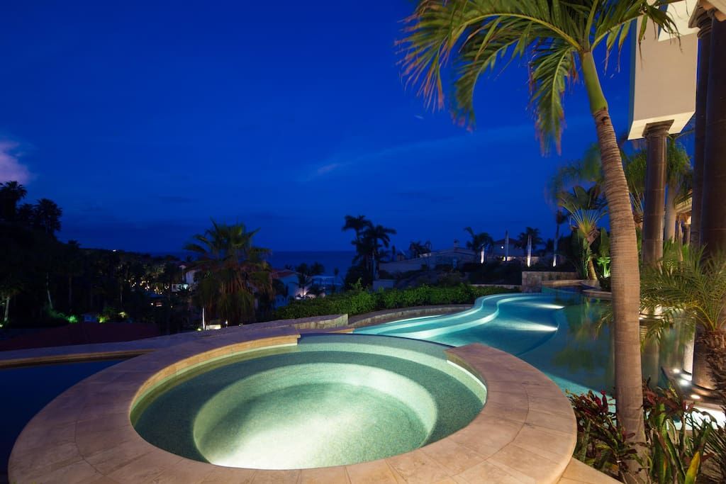 Night Time Jacuzzi