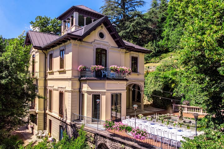 Villa Alceo luxury resort near Lake Como