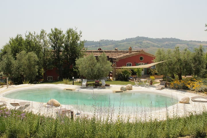 La Casa Rossa - Countryhouse with swimmingpool