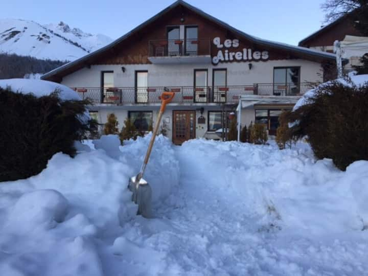 Bed and breakfast familial au pied des pistes