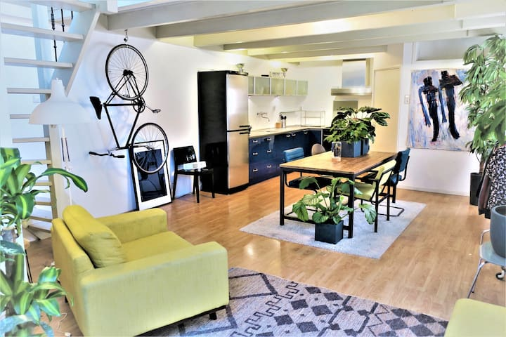Perfect Rooftop Appartment (14 min to Amsterdam) - Haarlem - Hus
