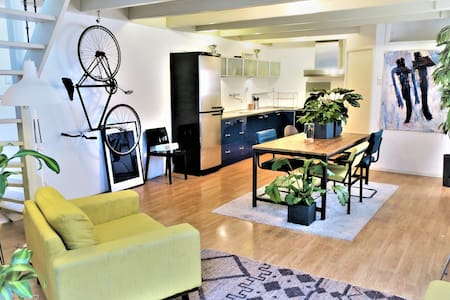 Perfect Rooftop Appartment (14 min to Amsterdam) - 哈勒姆 - 独立屋