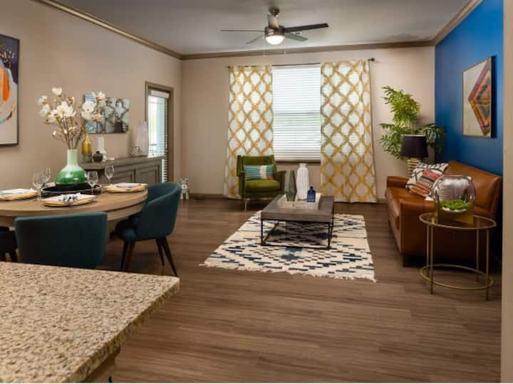Live + Work + Stay + Easy   1BR in Baytown