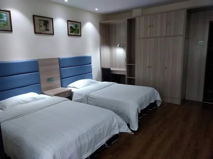 精品酒店式公寓大床房双人房