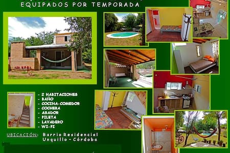 Habitaciones en Unquillo - Cordoba - Unquillo - Cabanya