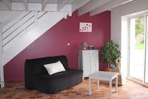 salon avec canapé BZ