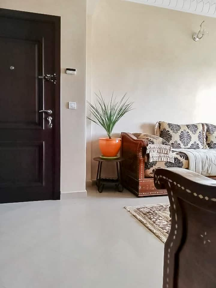 Agadir Plage Cosy Flat 2 Bed Rooms 1 living room