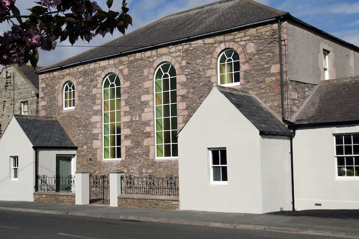 B&B in a restored former chapel - Seahouses