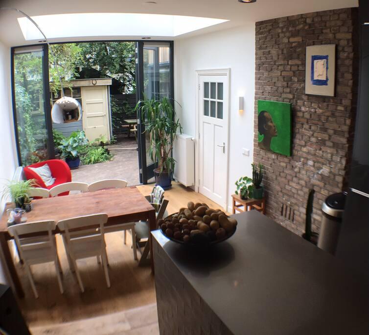 Eating area/garden