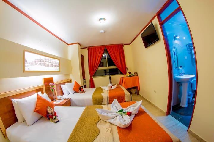 ofrecemos habitaciones confortables - Aguas Calientes