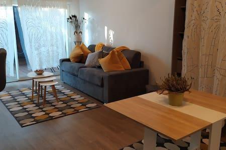 Studio attenant cozy avec terrasse à Bègles