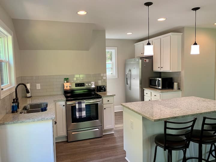 New Construction- Chapin Carriage House