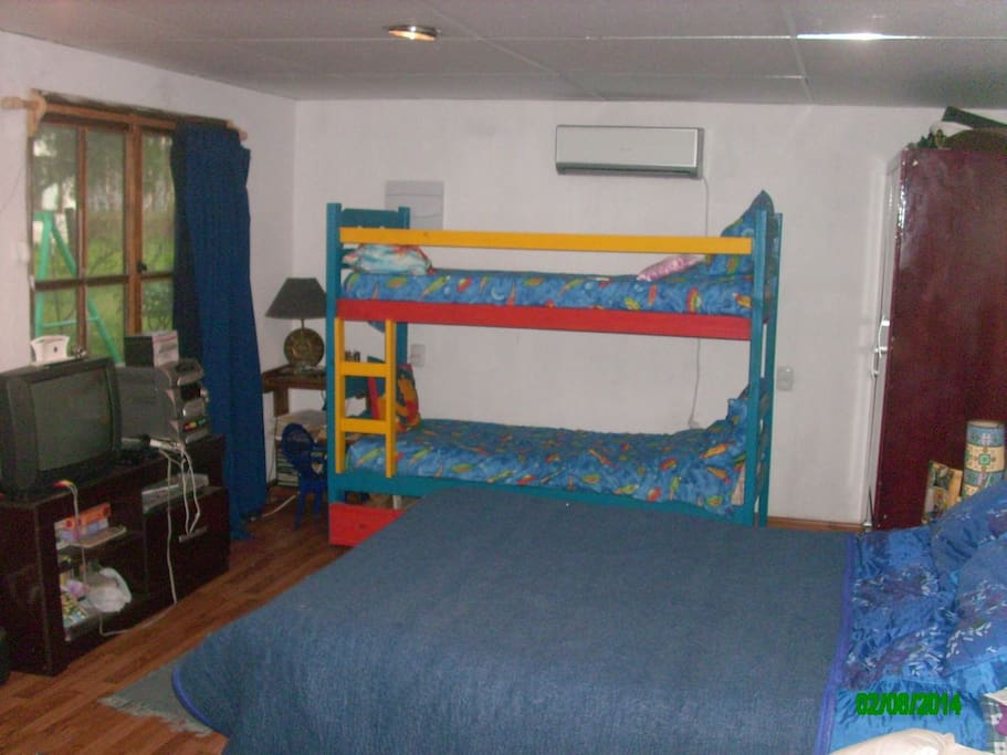 cama 2 p y cuchetas