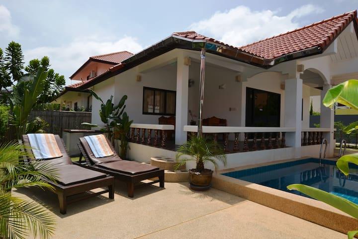 Villa Malee Seaview med egen pool - Ko Lanta Yai - Haus