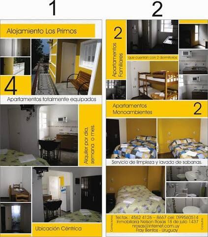 Apartamentos en el centro de Fray Bentos