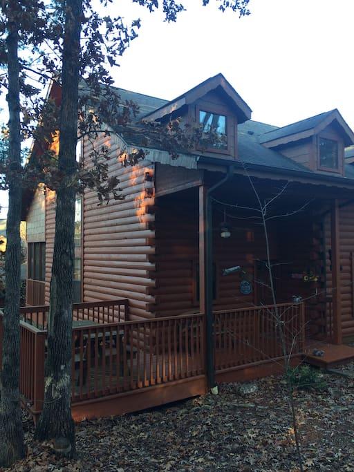 Comfy cabin in the center of branson chalet in affitto a for Branson condomini e cabine in affitto