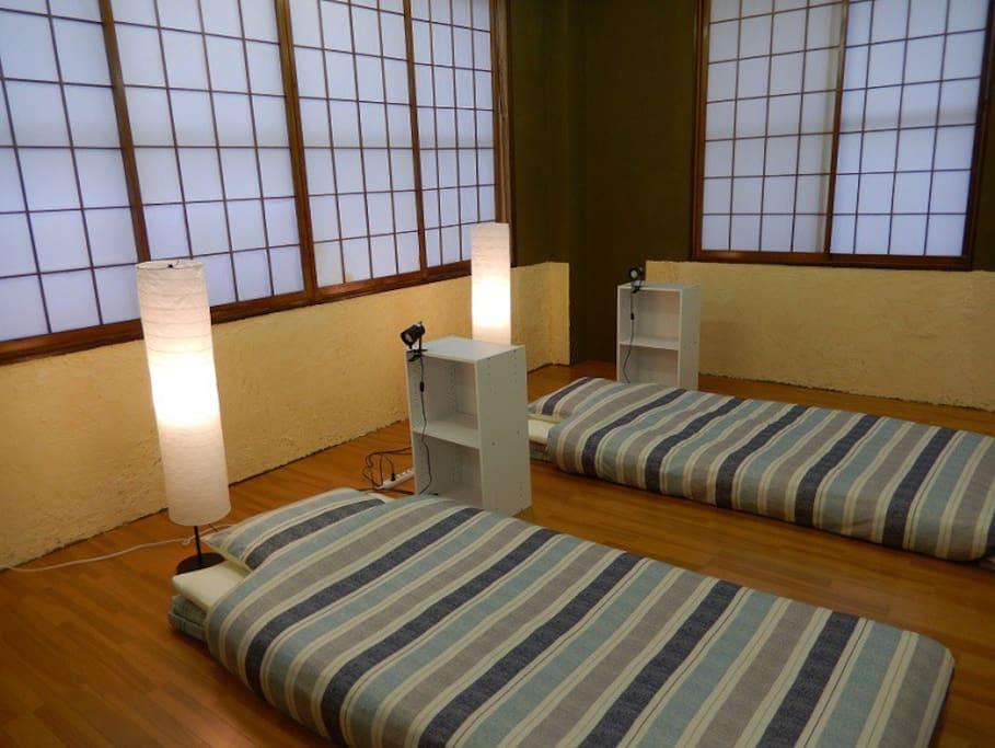 寝室/Sleeping room