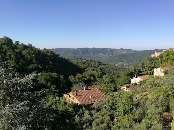 Casa Bellavalle vista sull' Umbria