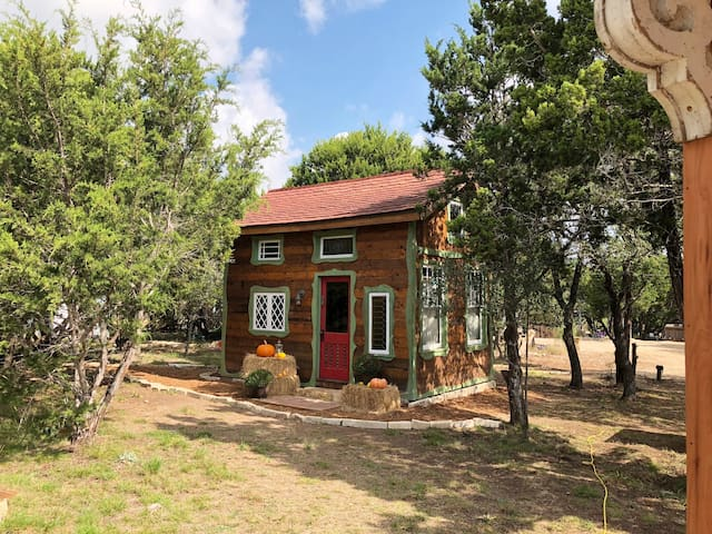 Dripping Springs' Magical, Storybook Cottage