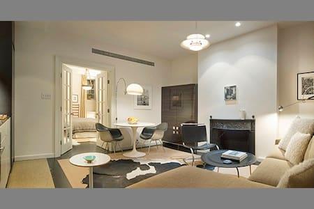 Tribeca/Soho Garden Apartment - 紐約