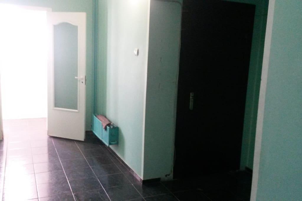 коридор перед квартирой