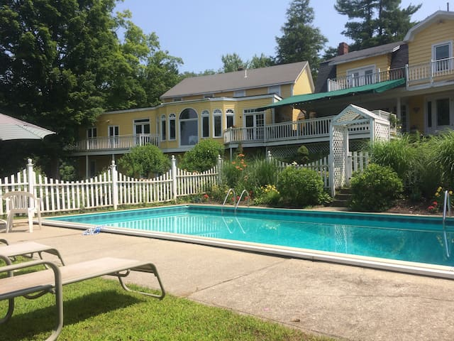 Great Barrington apartment with view, for Summer