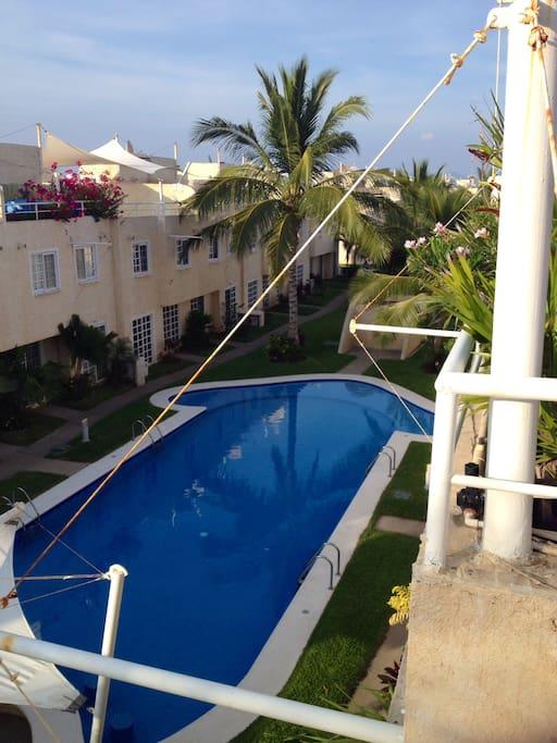 Alberca compartida/pool