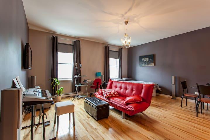 Quaint, cozy loft in downtown Montréal