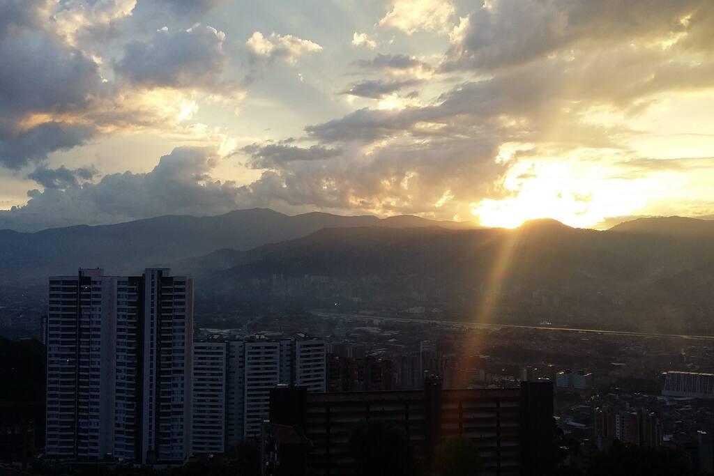 vista desde el balcon del apartamento