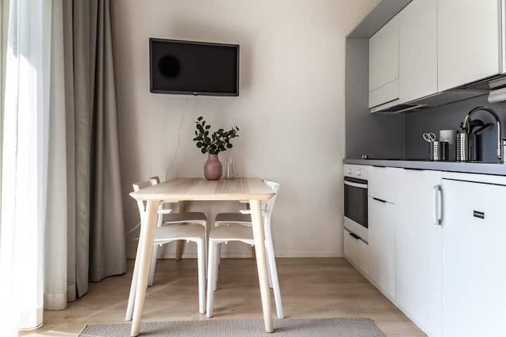 Fresh studio apartment in  Martinlaakso (5006E)