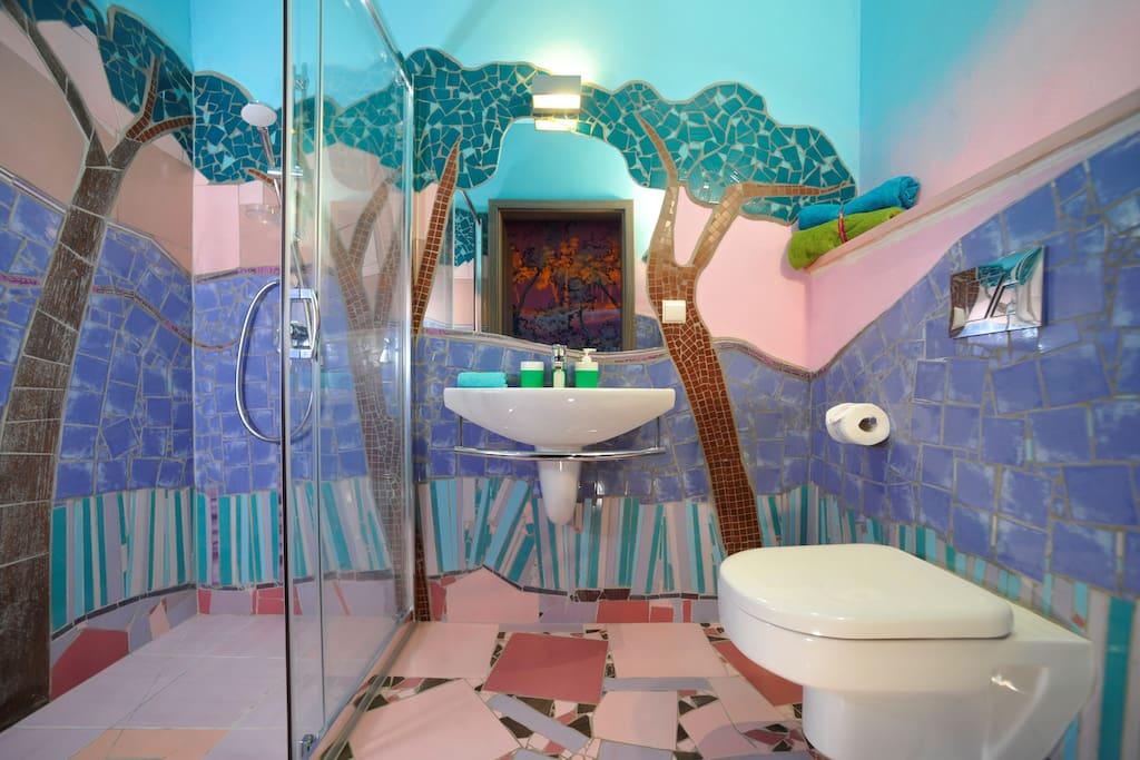 Pokój Cygański - łazienka