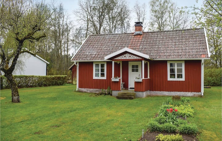 Awesome home in Markaryd with 1 Bedrooms