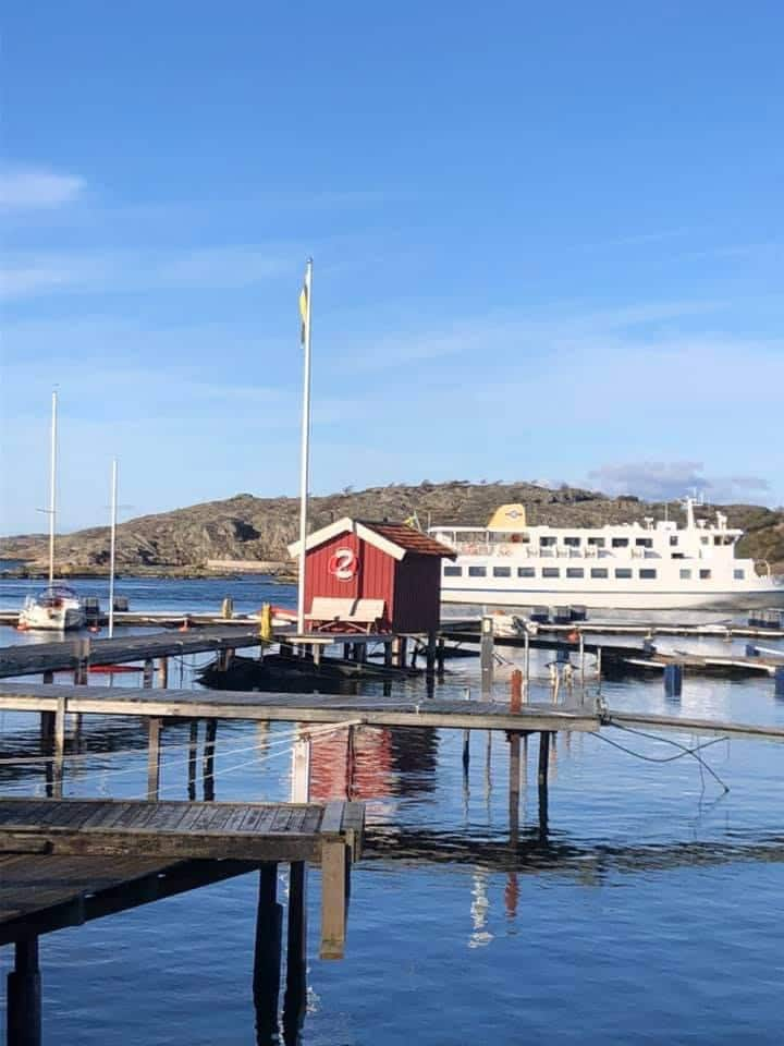 Bekvämt boende 5 min från havet på Styrsö Tången
